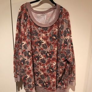 Free People light weight sweatshirt M